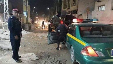 صورة شرطة الديوانية تنقذ امراة حاول زوجها حرقها